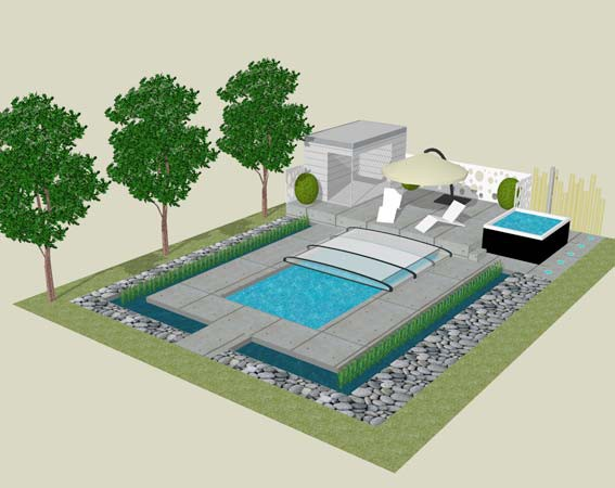 Piscine emission d co sur m6 pisciniste euro piscine for Ab construction piscine