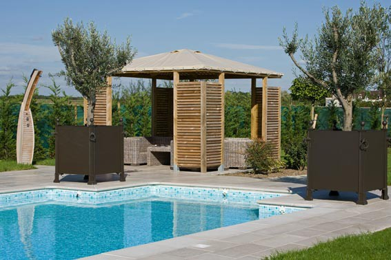 Pool house piscine euro piscine services - Piscine pool house des idees ...