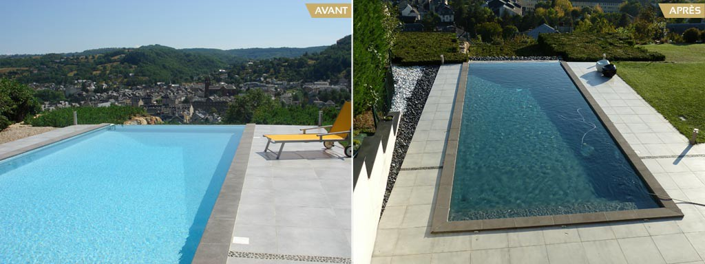 Changement des quipements de piscine r novation for Devis changement liner piscine