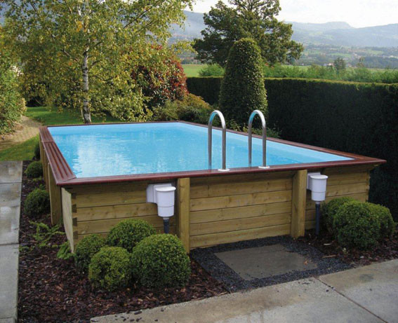 Piscine hors sol piscine en bois euro piscine services for Piscine bois gardipool