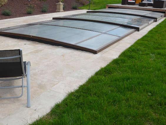 Abri int gr extra plat constructeur d 39 abris euro for Abris de piscine plat
