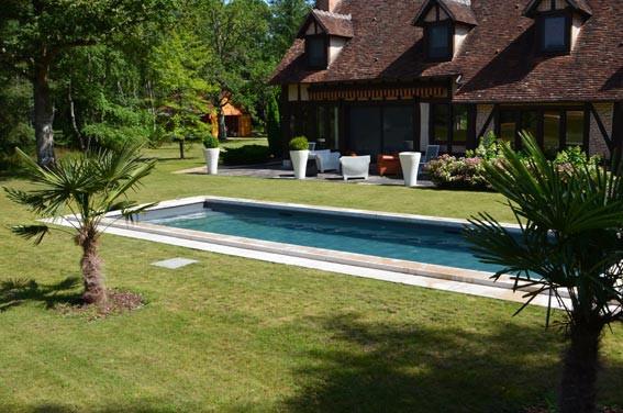 Couloir de nage euro piscine services - Piscine type bassin ancien argenteuil ...