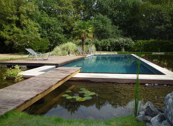 Photos de piscines pour vous inspirer id es am nagement for Plan piscine naturelle