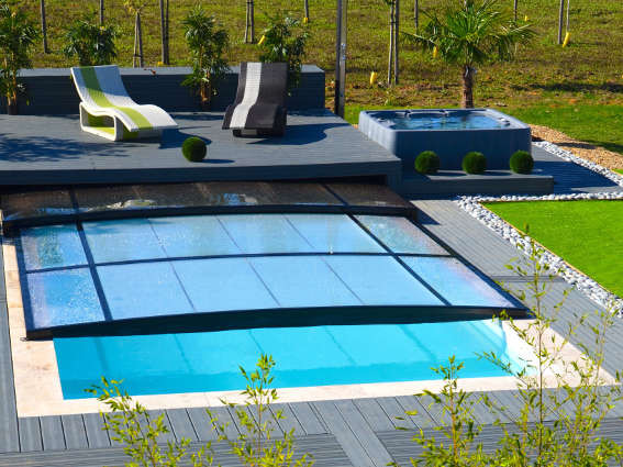 Abri int gr extra plat constructeur d 39 abris euro for Avantage service piscine