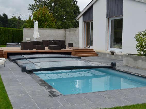 Abri int gr extra plat constructeur d 39 abris euro for Avantage service piscine biot