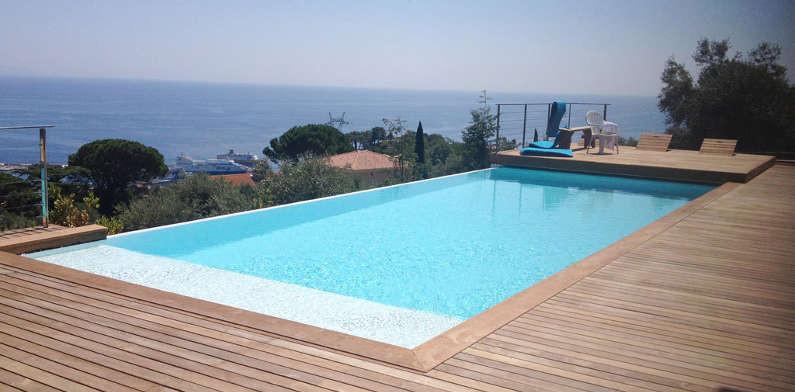 Piscine d bordement euro piscine services - Euro plomberie piscine le cannet ...