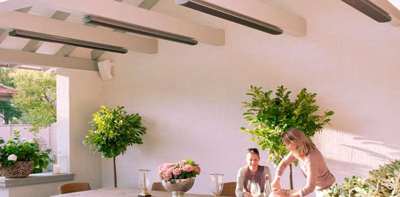 Chauffage terrasse - Braséro - Aménagement de piscine et jardin ...