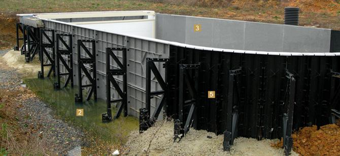 Structure en panneaux pour votre piscine construction de for Avantage service piscine biot